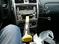 Hammer in car - Can't remove as it'll break the face of radio - 2013-04-14 14-9.jpg