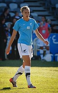 Hannah Wilkinson New Zealand footballer