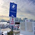 Harborwalk sign at HarborArts, East Boston Shipyard and Marina.jpg