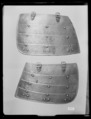 Harnesk maglappar 2st - Livrustkammaren - 19388.tif