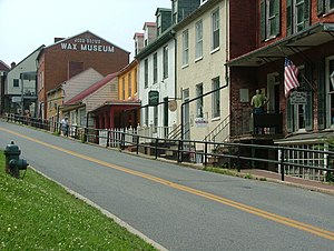 Harpers Ferry Historic District - Image: Harpers Ferry High Street