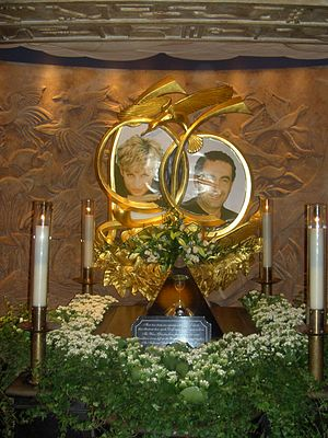 Harrods memorial to Dodi Al-Fayed and Princess...