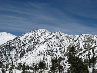 Mount Harwood mountain in California, United States