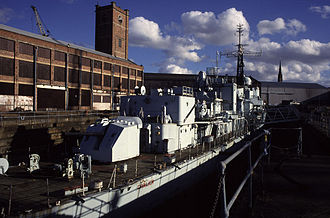 Hawthorn Leslie and Company - The Hawthorn Leslie dry dock