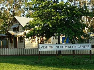 Healesville, Victoria - Image: Healesvillevisitorce ntre 07