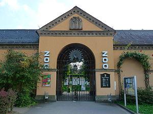 Heidelberg Zoo - Heidelberg Zoo entrance