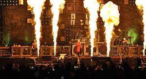 Sonne (Rammstein song) - Heino and Rammstein performing Sonne at the Wacken Open Air 2013