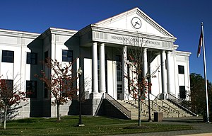 Henderson County, North Carolina - Image: Henderson courthouse 9239