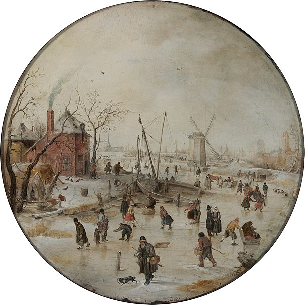 File:Hendrick Avercamp - Frozen River with Skaters - Google Art Project.jpg