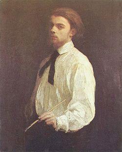 Self Portrait by Henri Fantin-Latour (1859), at the Musée des Beaux-Arts, Grenoble