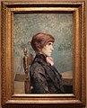 Henri de toulouse-lautrec, ritratto di jeanne wenz, 1886.jpg