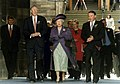 Her Majesty Queen Elizabeth II at the opening of the Scottish Parliament.jpg