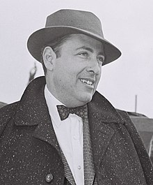 Wouk in Jerusalem, 1955