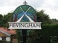 Hevingham Village Sign - geograph.org.uk - 519176.jpg
