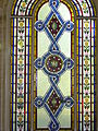 High Hazels House W Jeffcock commerative stained glass Window with Family Crest.jpg