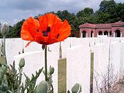 High Wood cemetery, France