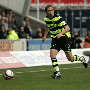 Andreas Hinkel - Hinkel playing for Celtic in 2009