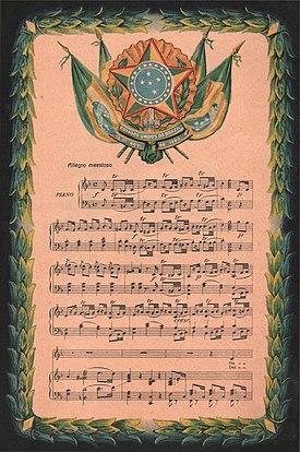 Himno Nacional Del Brasil Wikipedia La Enciclopedia Libre
