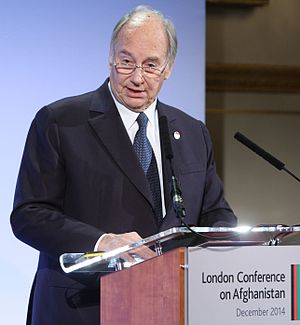 Aga Khan IV - Image: His Highness the Aga Khan (15760993697)