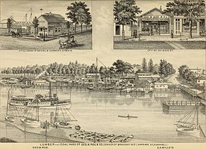 Flushing, Queens - Flushing in 1882