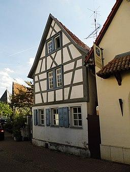 Taubengasse in Hofheim am Taunus