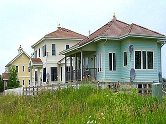 Maharishi Vedic Approach to Health - Homes in Maharishi Vedic City, Iowa built using the principles of Maharishi Sthapatya Veda