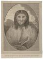 Homo sapiens - Haida Gwaii, Canada - 1700-1880 - Print - Iconographia Zoologica - Special Collections University of Amsterdam - UBA01 IZ19500204.tif