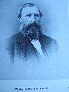 Robert B. Sanderson American businessman