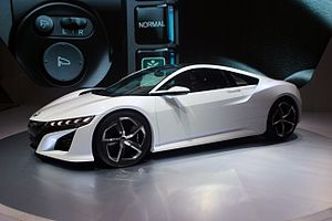 Honda NSX (second generation) - Honda NSX Concept at the 2014 Indonesia International Motor Show