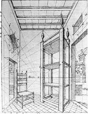 Perspectiva gr fica wikip dia a enciclop dia livre for Dessins d architecture en ligne