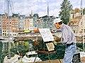 Honfleur - Le peintre du vieux port.jpg