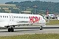 Hop! CRJ-1000 F-HMLF at LSZH (19997544344).jpg