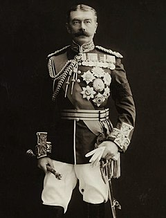Herbert Kitchener, 1st Earl Kitchener Senior British Army officer and colonial administrator