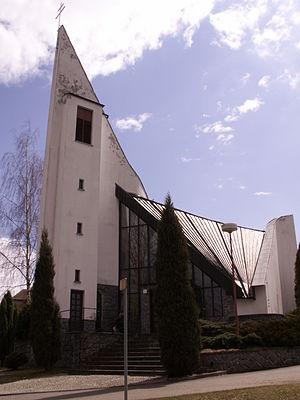 Horní Libochová - Image: HorníLibochová kostel 1