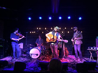 Horse Feathers (band) - Horse Feathers live in 2018 on the 'Appreciation' tour.