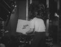 Hossam Moheeb, Egyptian TV 1962, Shooting The White Line Film..png