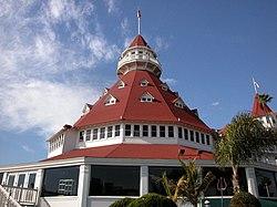 Main building of the Hotel del Coronado