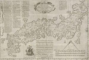 António Francisco Cardim - Image: Houghton PC6 C1795 646f Cardim, Japan map