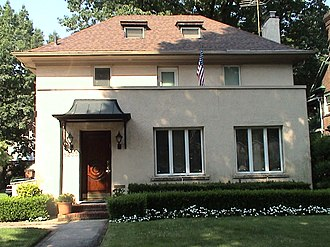 Kew Gardens, Queens - A typical house in Kew Gardens