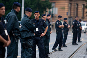 Law enforcement in Croatia - Intervention Police members