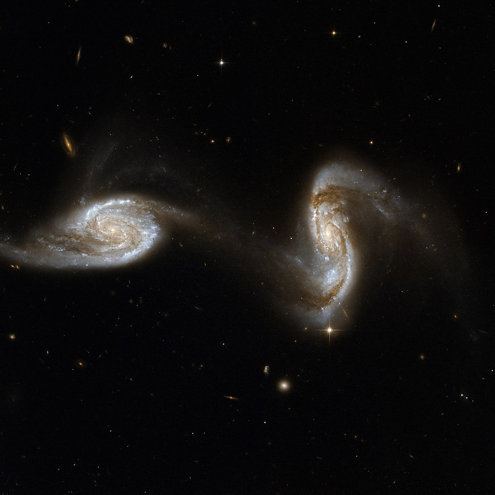 Hubble Interacting Galaxy NGC 5257 (2008-04-24)
