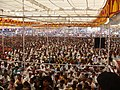 Huge crowd attended a function of Bharat Nirman Public Information Campaign at Anandpuri Banswara, Rajasthan on March 08, 2008.jpg