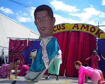 Hugo Chavez Homage by David Shankbone