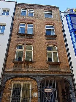 Huhnsgasse in Köln
