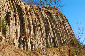 Westerwald - Basalt columns at the Hummelsberg