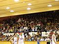 Hungarian fans during Hungary vs. Italy in Szolnok.jpg