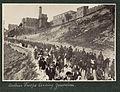 Hungarian troops leaving Jerusalem for the Gaza front 1916.jpg