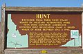 Hunt Relocation Camp sign in 2010.jpg