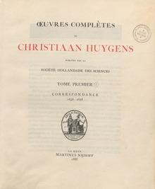 Christian huygens wikip dia for Catalogue de plantes par correspondance