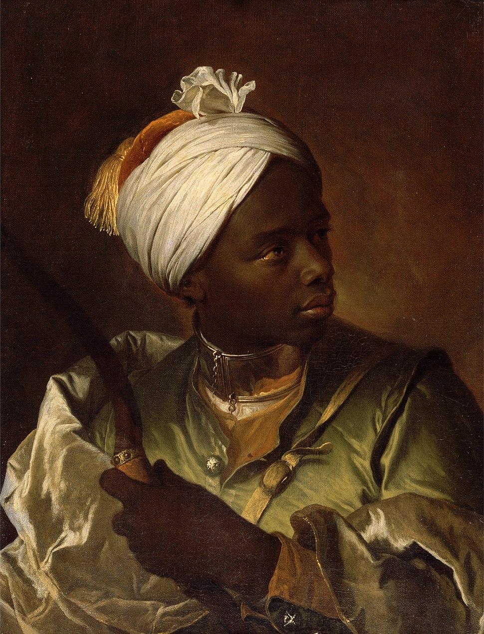 Hyacinthe Rigaud - Jeune nègre avec un arc (ca.1697)